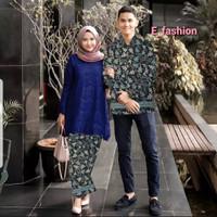 baju couple brukat batik