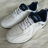 Sepatu Joging- Sepatu Runing - Sepatu Ardiles Federer White - Navy