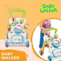 Baby walker / Baby Push Walker / Alat bantu Bayi jalan + Pemberat