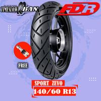 Ban Belakang Motor YAMAHA NMAX // FDR SPORT ZEVO 140/60 Ring 13 Tubele