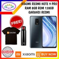 XiaoMi Redmi Note 9 Pro 8/128 RAM 8GB ROM 128GB GARANSI RESMI