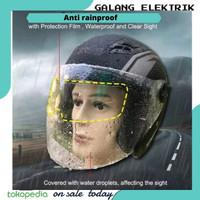 Kaca Film helm anti fog anti hujan anti lembab Stiker Antifog Helm