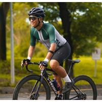 Baju Sepeda Cycling Jersey Cowok/Cewek/Unisex Sterling Silver