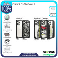 Ringke iPhone 12 Pro Max Fusion X Softcase Military Armor Anti Crack