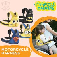 Sabuk Bonceng kursi anak sepeda motor - Batman
