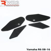 Tank Grip & Tankpad WR3 Yamaha R6 Kanan Kiri Techspech ModeL