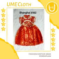 Cheongsam Cewek / Baju Imlek Shanghai Anak Perempuan #8162 #L8162 - 8165, S