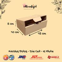 kardus Packing uk.15x10x5 cm --Die Cut dan easy usage--