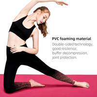 MINISO Matras Yoga Mat Yoga Anti Slip Karet Berkualitas Lembut 6mm
