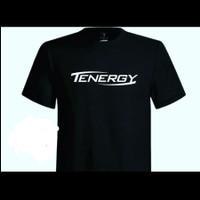 Kaos Baju Combed 30S Distro TENERGY tenis meja ping pong polos custo