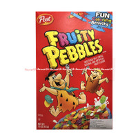 Post Fruity Pebbles 425gr Sweetened Rice Cereal Sereal Rasa Buah