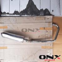 Knalpot Racing BAJAJ PULSAR 180 / 200NS Stainless Steel