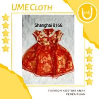 Cheongsam Cewek / Baju Imlek Shanghai Anak Perempuan #8166 #L8166