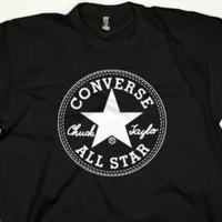 Tshirt kaos pria BIG SIZE 2XL 3XL 4XL CONVERSE ALL STAR