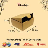 Kardus Packing UK 10x10x5 cm — Cut dan easy usage--