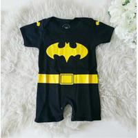 Baju Bayi Laki Laki Lucu Keren Romper Batman
