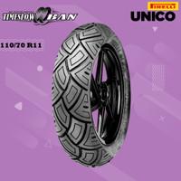 Ban Motor VESPA MATIC // PIRELLI SL 38 UNICO 110/70 Ring 11 Tubeless