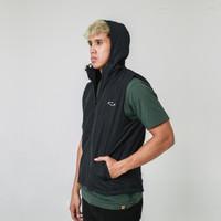 Jaket Vest / Rompi Olahraga AZA Basic Vest Jacket - Black - XS