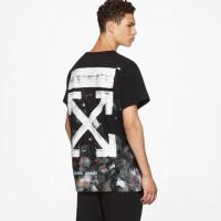Off White Diagonal Galaxy T-shirt 100% Original