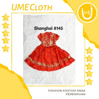 Cheongsam Cewek / Baju Imlek Shanghai Anak Perempuan #8145 - S