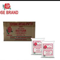 ROSE BRAND TEPUNG BERAS 500 GRAM 1 DUS ISI 20 gojek or grab only