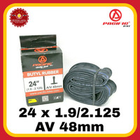 Ban Dalam Sepeda PASIFIC 24 X 1.9/2.125 AV 48mm