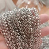 Rantai Bulat | bahan aksesoris kalung gelang handmade craft