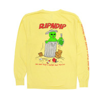 Kaos RIPNDIP Trash & Treasure LS Tee Banana Original