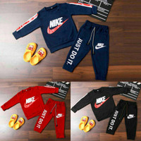 Baju Setelan Training Anak Laki Laki Perempuan Nike 2-8 tahun