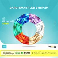 BARDI Smart LED Strip 2m RGBWW Wifi Wireless Home Lampu Pintar IoT ORI