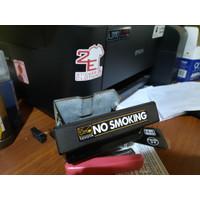 Stiker NO SMOKING Ashtray TOYOTA