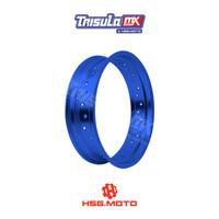 VELG SUPERMOTO TMX ALUM MT RIM 4.25x17 36H - BLUE