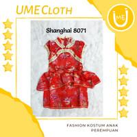 Cheongsam Cewek / Baju Imlek Shanghai Anak Perempuan #8071 - S