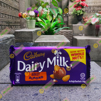 cadbury dairy milk 165gr - coklat susu