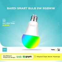 BARDI Smart 9W RGBWW LED LIGHT BULB - aplikasi TUYA atau SMART LIFE