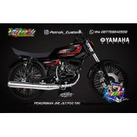 Striping Rx King Racing variasi Stiker Motor