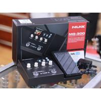 Nux MG 300 + Adaptor Multi Effect - Efek Gitar Multi Nux MG300
