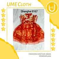 Cheongsam Cewek / Baju Imlek Shanghai Anak Perempuan #8167