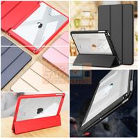 iPad Mini 1/2/3 7.9 Luxury 3 Fold Smart Cover / Case - BLACK/HITAM