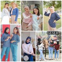 Kaos Atasan Wanita / Kaos Katun / Kaos hijab