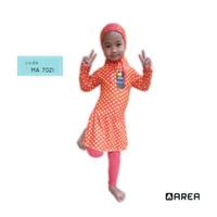 Baju renang muslim muslimah anak TK - M, chery