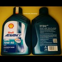 Shell Advance AX7 10W 40 800 ML