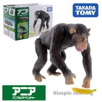 Miniatur Hewan Simpanse Takara Tomy Tomica Ania AS-14 Chimpanze Animal