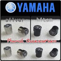 tutup pentil motor aksesoris yamaha - Silver