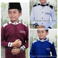 baju koko anak busana muslim seragam hadroh gus azmi azzahir KK12