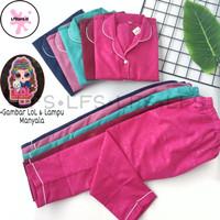 Piyama Embos Anak LOL Lampu LED Baju Tidur Anak Embos Gambar LOL Murah - Tosca, XL