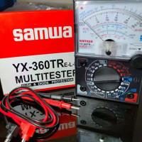 REDY MULTIMETER MULTITESTER SANWA YX-360TR AVOMETER VOLTMETER