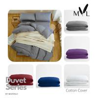 Duvet Cover Katun Jepang by Marvelo 180x230 cm - Hijau