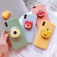 PopSocket Hp - Pop Socket Holder Phone - Griptok Karakter Kartun 3D