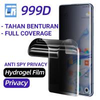 HYDROGEL XIAOMI REDMI NOTE 5A ANTI SPY PRIVACY FILM FULL COVER - DEPAN